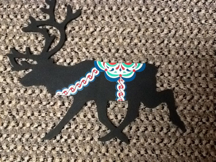 Picture of Silicone Reindeer Trivit