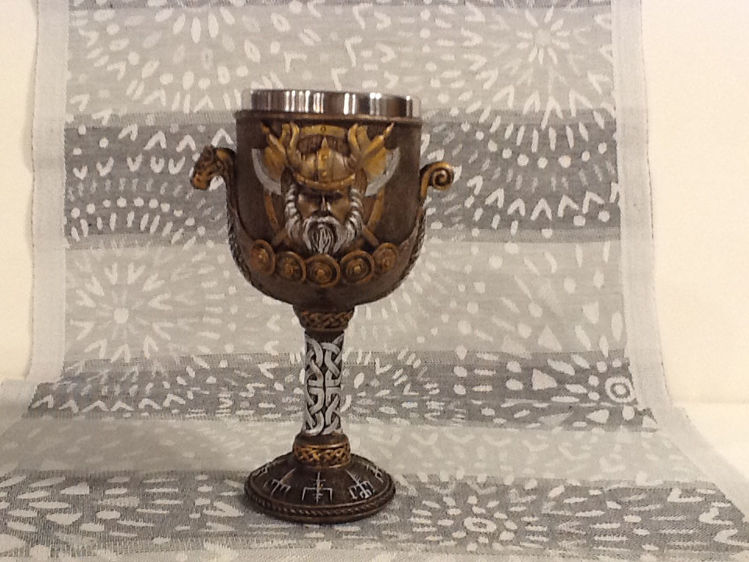 Picture of Viking Ship Goblet, Resin