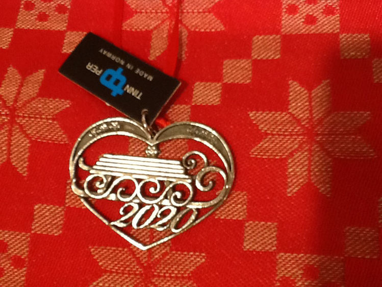 Picture of Norwegian Pewter, 2020 Ornament
