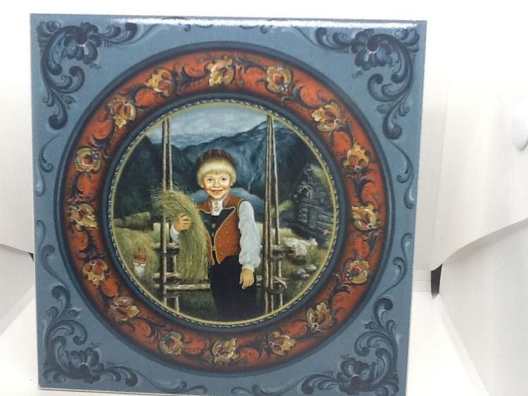 """Picture of Suzanne Toftey Tiles, Assorted 6"""" x 6""""."""