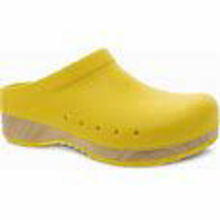 Picture of Dansko Kane, Molded Clog, Yellow