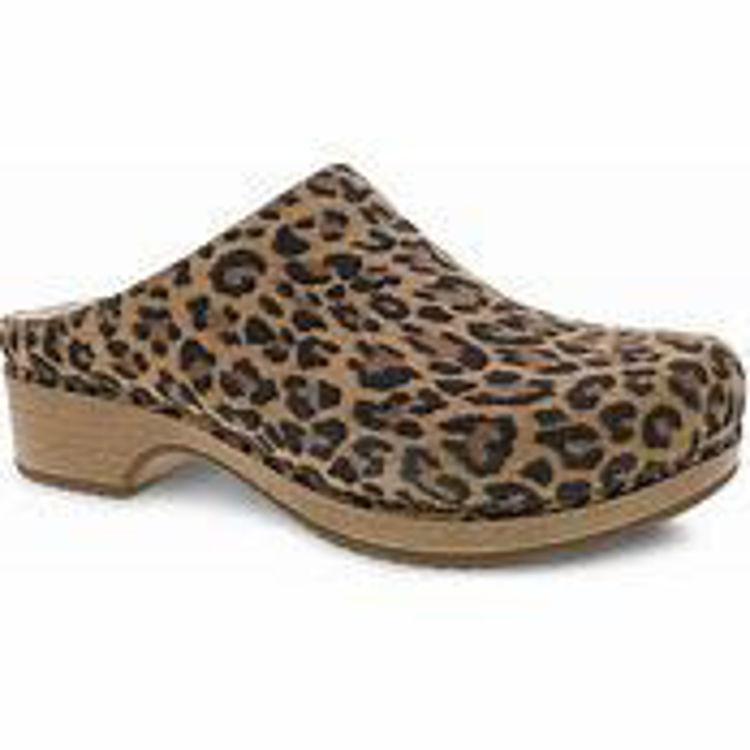 Picture of Dansko Brenda, Leopard Suede